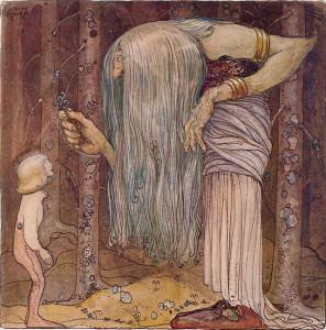 Im Dialog mit dem Troll (Quelle: Wikimedia)
