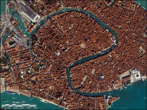 Canal aus dem All (Quelle: NASA)