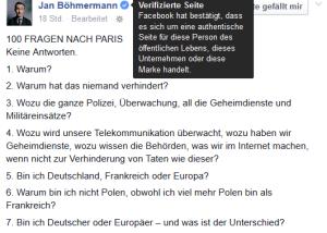Böhmermann 100