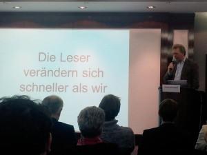 Journalist und Publikum (Quelle ZAPP /NDR)