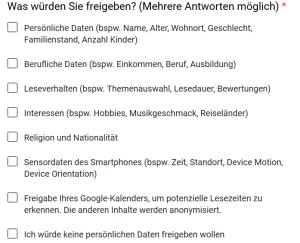 Preis der Perfektion: Daten (Screenshot Anmeldeformular Xminutes)