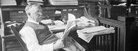 Aussitz-Redakteur (Foto: Library of Congress)